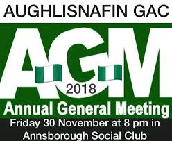 Annual General Meeting invite 2018